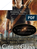City of Glass by Cassandra Clare extract