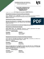 #EducaciónUCV Minuta Consejo Escuela de Educación 1467. 1.05.12 #UCV