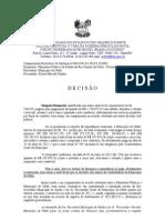 PROCESSO CUMPRIMENTO PROVISORIO DE SENTENÇA PREFEITURA DE NATAL