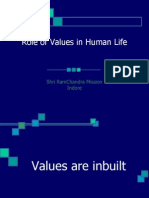 Role of Values in Human Life.ppt