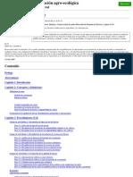Zonas AgroEcologicas Doc de La FAO