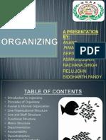Organizing Group a Final