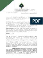 Portaria n° 93 - Criação do Cadastramento Ambiental Rural (CAR)