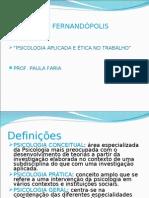 psicologia aplicada FAEC