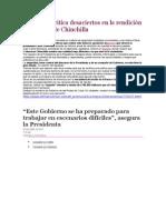 Oposición critica desaciertos en la rendición de cuentas de Chinchilla
