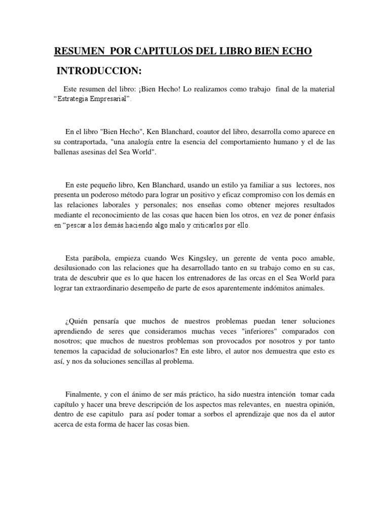 Único Resumen Hecho Embellecimiento - Ejemplo De Colección De ...