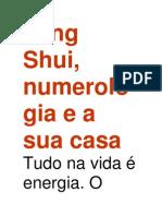 Feng Shui Numerologia