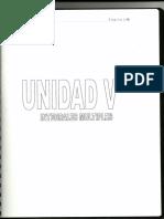 Unidad V, Matemáticas III