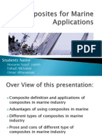 Composites for Marine Applications