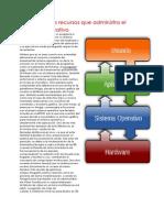 Identificar Los Recursos Que Administra El Sistema Operativo
