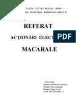 Referat Macarale an III