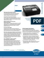 Hach DR3800 Data Sheet