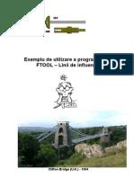 Manual FTOOLL_Exemplu Linii de Influenta