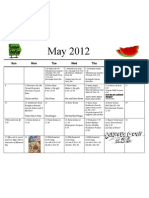 Shortcut to May 12 Calendar