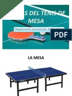 Reglas Del Tenis de Mesa