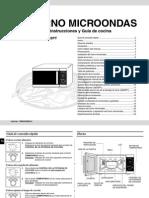 Manual del Microondas Samsung GE82P o GE82PT