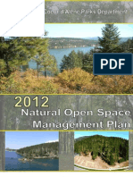 CDA Natural Open Space Draft Management Plan