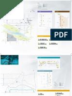Edmonton bike lanes map for 2012