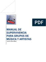 Curso marketing y promoción musical. Manual de supervivencia para grupos de música y artistas""