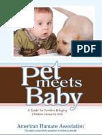 Pet Meets Babypdf Updated