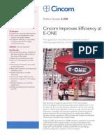 E-ONE Profile in Success