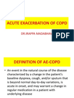 Acute Exacerbation of Copd by Dr Irappa Madabhavi