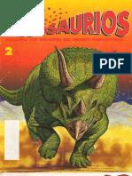 Dinosaurios - Descubre Los Gigantes Del Mundo rico - 2 - Triceratops - Vol. 1