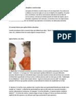 10 Consejos Para Educar Con Disciplina a Nuestros Hijos