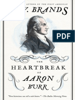 The Heartbreak of Aaron Burr by H.W. Brands (Excerpt)