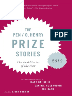 The PEN/O. Henry Prize Stories 2012 Edited by Laura Furman (Excerpt)