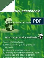 General Anesthetics
