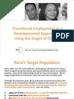 Transitional Employment as a Developmental Experience