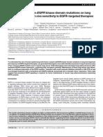 The Impact of Human EGFR Kinase Domain Mutations-2