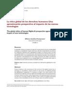 Alfonso de Julios-Campuzano - La ética global de los derechos humanos