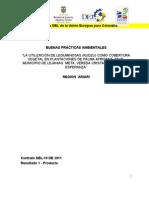 La utilización de leguminosas (kudzu) como cobertura vegetal en plantaciones de palma africana en el municipio de Lejanías,  Meta, Vereda Cristalina,  finca La Esperanza