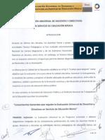 Lineamientos Evaluacion Universal 2012