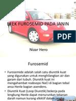 Efek Furosemid Pada Janin