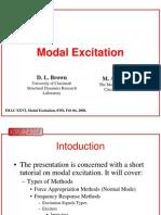 IMAC2008 Modal Excitation Tutorial RevF
