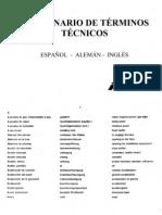 Diccionario Tecnico de Terminos Tecnicos