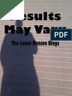 Results May Vary Promo eBook