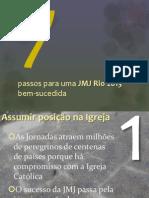 7 Dicas Para Preparar a JMJ Rio2013