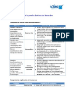 Especificaciones-ciencias Pruebas Saber