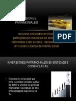 INVERSIONES PATRIMONIALES