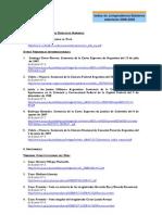 Lista Resumida Jurisprudencias Tratadas Anteriores Boletines 2008 2009 Enero2010