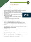 SG KE BNET Reducing and Managing Workplace Absenteeism