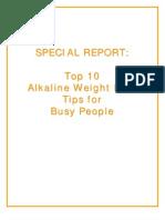 Dieta Alcalina 10 Principios