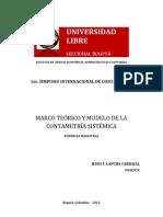 MARCO TEÓRICO Y MODELO DE LA CONTAMETRÍA SISTÉMICA