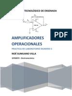 Practica_#4 - Amplificadores Operacionales