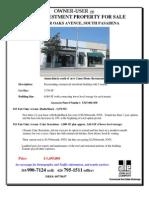 811-813 Fair Oaks Avenue, Pasadena   for Sale