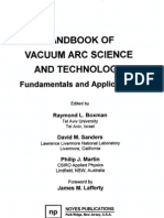 Handbook of Vacuum Arc Science and Technology